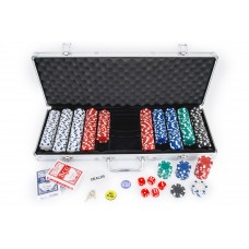Poker case, aluminium